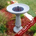 Solar Bird Bath Save 41%
